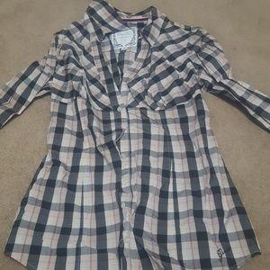 Guess button down shirt